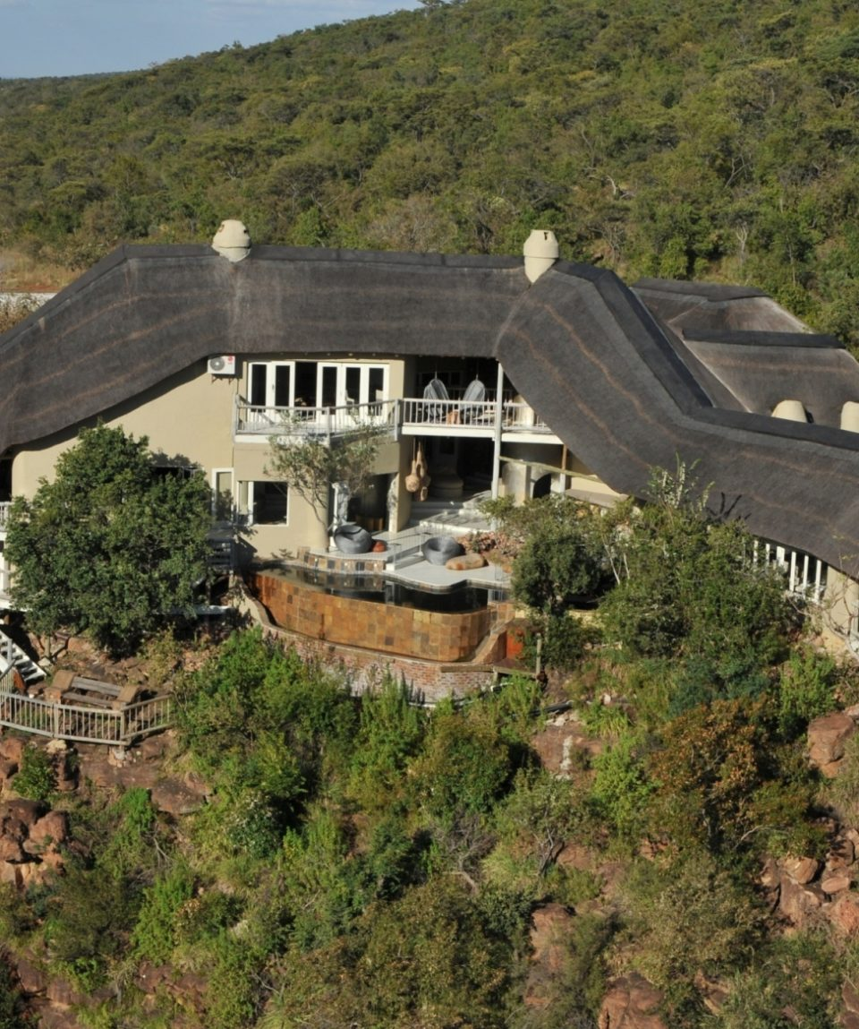 Clifftop Exclusive Safari Hideaway - Arial View 1