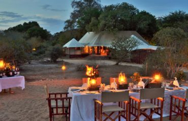Hamiltons Tented Camp Bush - Dining 2
