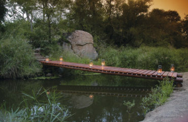 Little Bush Camp - Bridge to Pool